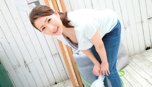 彩月あかり「朝ゴミ出しする近所の遊び好き隣のノーブラ奥さん」